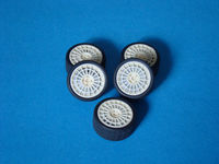 Lancia wheels (5 resin wheels + 5 tyres)