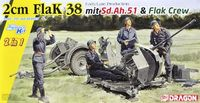 2cm FlaK 38 Early/Late Production mit Sd.Ah.51 and Crew (2 in 1) - Image 1