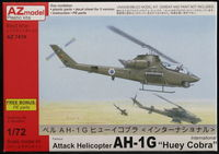 "Attack Helicopter AH-1G ""Huey Cobra"""
