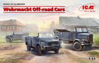 Wehrmacht Off-road Cars (Kfz.1, Horch 108 Typ 40, L1500A)