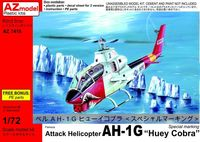 "Attack Helicopter AH-1G Late ""Huey Cobra"" Special marking"