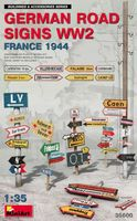 German Road Signs WW2 - France 1944