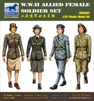 W.W.II Allied Female Soldier Set - Image 1