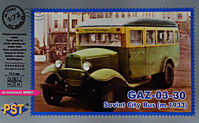 Gaz-03-30 m.1933 Soviet city bus - Image 1