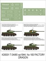 T – 34/85 Dragon - Image 1