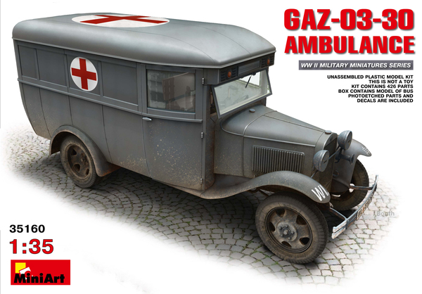 GAZ-03-30 AMBULANCE - Image 1