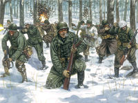 U.S.Infantry (Winter Unif.)Second World War - Image 1