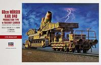 60cm MORSER KARL 040 PRODUCTION TYPE w/RAILWAY CARRIER - Image 1