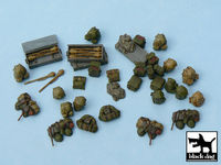 German equipment accessories set 35 resin parts - Image 1