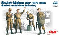 Soviet-Afghan War, 1979-1988 Soviet motorized infantry