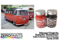 1475 Volkswagen T1 Samba Bus (Sealing Wax - Chestnut Brown) Set - Image 1