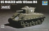 M4A3E8 with 105mm M4 - Image 1