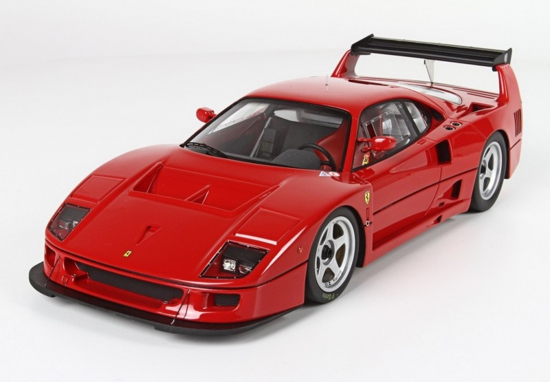 Ferrari F40 Lm Die Cast Model Bbr P18131