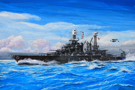 Trumpeter 1//700 05769 USS Maryland BB-46 1941 Battleship