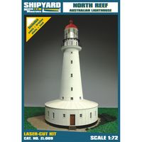 North Reef Lighthouse skala 1:72