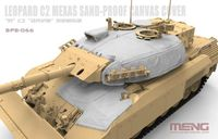 Canadian Main Battle Tank Leopard C2 MEXAS Sand-Proof Canvas Cover
