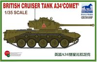 British Cruiser Tank A34 'COMET'(Special Edition)