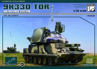 Russian 9K330 Tor Air Defence System with plastic tracks