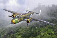 North American B-25D Pacific Theatre