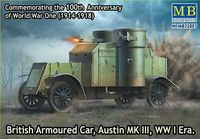 British Armoured Car, Austin, MK III, WW I Era