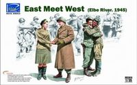 """East Meet West"" Elbe River 1945 Figure Set (4 Figures Set)"