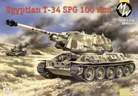 Egyptian T-34 Self-propelled gun 100mm