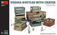 VODKA BOTTLES WITH CRATES - Image 1
